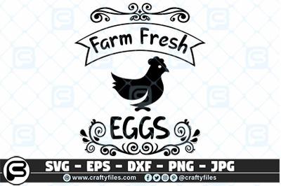 Farm fresh SVG. eggs SVG, Chicken SVG