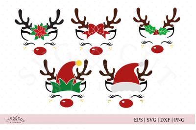 Christmas Reindeer SVG files