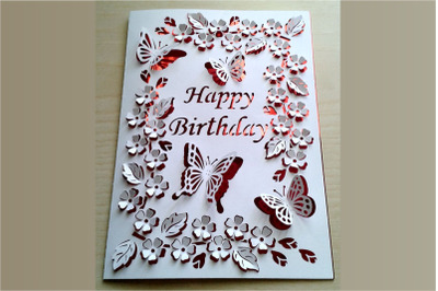 Pop Up Happy Birthday, Love You Mom, Happy Mother's Day SVG files.