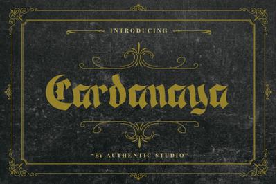 Cardanaya Blackletter Font
