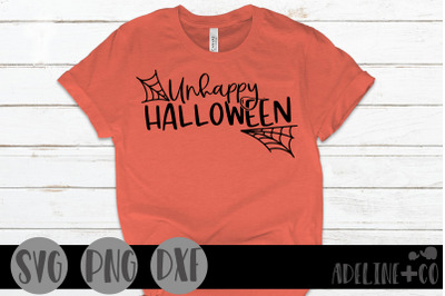 Unhappy Halloween, SVG, PNG, DXF