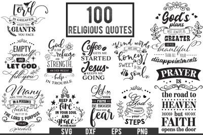 100 Religious Quotes