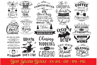 Best Sellers Cut Files Pack - Limited PROMO!