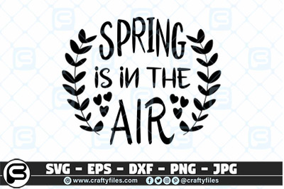 Spring is in the air SVG, cut failes for cricut and silhouette