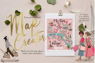 Your Map Creator Paris