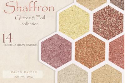 Shaffron Metallic glitter & foil collection