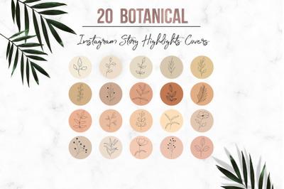Botanical Instagram Story Highlight
