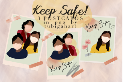 Keep Safe Ready to use postcards