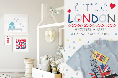 Little London collection.Part 1.Posters