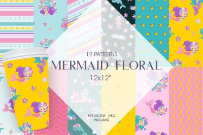 Mermaid Floral