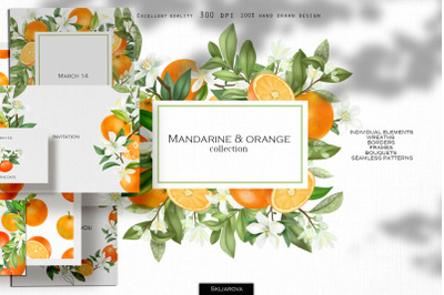 Mandarine & orange collection