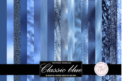 Classic blue seamless textures