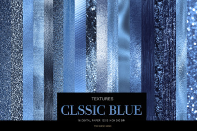 Digital paper classic blue, digital paper blue,