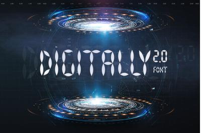 Digitally Font