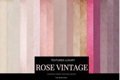Digital paper Vintage rose pastel