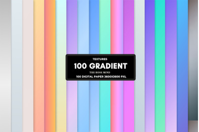177 Digital paper  Pastel gradient