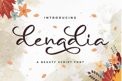 Denadia a Beauty Script Font