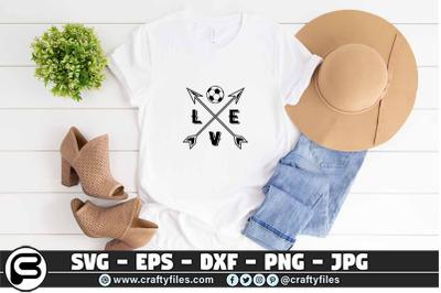Love Soccer SVG - Soccer SVG - Soccer mom SVG - Soccer T shirt SVG