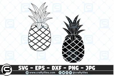 Ananas Pine Apple SVG pineapple SVG, PineApple SVG cut file