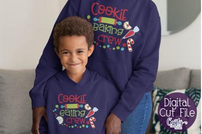 Christmas Svg, Cookie Eating Crew, Christmas Cookies Baking