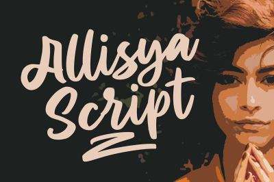 Allisya Brush Script