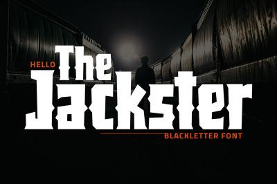 Jackster - Blackletter Font