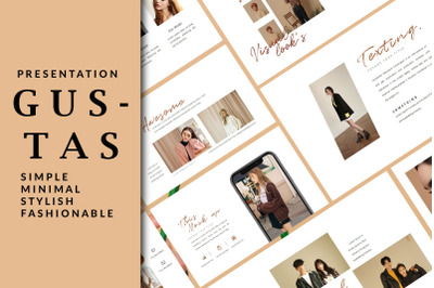Gustas Fashion - Powerpoint Template