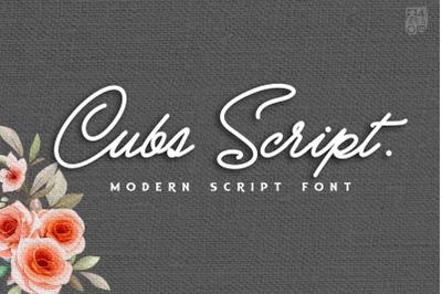 Cubs Script