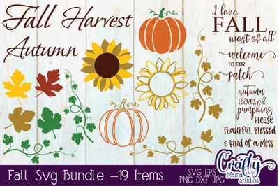 Fall Svg Bundle, Fall Quote Svg, Fall Design