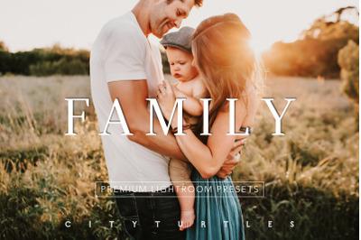 Natural Outdoor FAMILY Portraits Lightroom Desktop + Mobile Presets