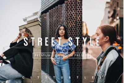 Clean Modern STREET STYLE Editorial Lightroom Desktop + Mobile Presets