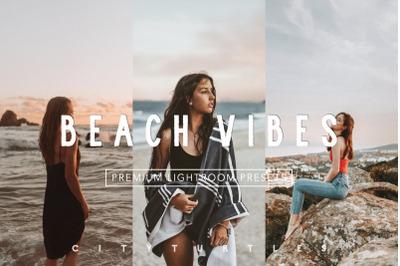 Warm Summer Film BEACH VIBES Lightroom Desktop + Mobile Presets