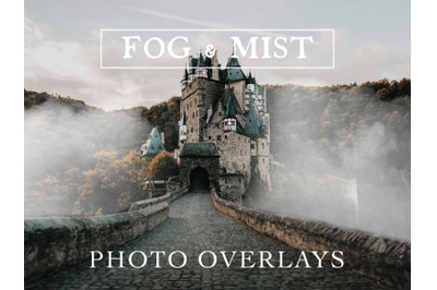 30 Real Fog and Mist Photo Overlays for Photoshop and Mobile