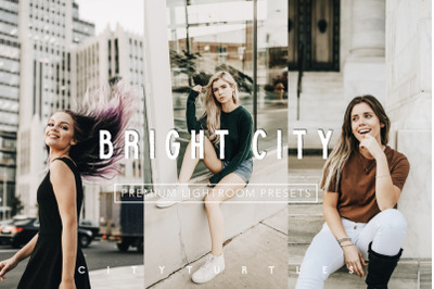 Urban BRIGHT CITY Blogger Lifestyle Lightroom Desktop + Mobile Presets