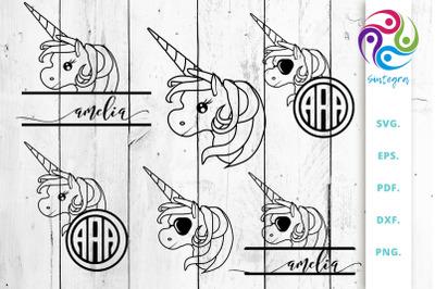 Unicorn Bundle Svg Cut File