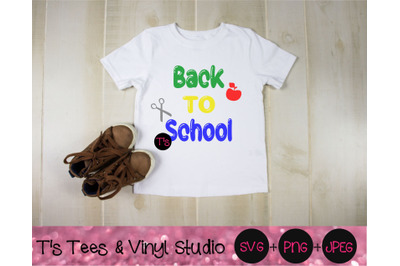 Back To School Svg, School Svg, Learn Svg, Time To Learn Svg, New Scho