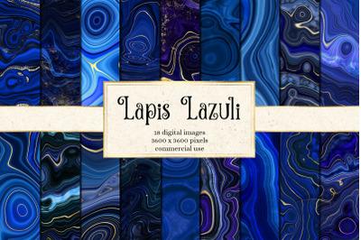 Lapis Lazuli Digital Paper