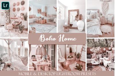 Boho Home Mobile & Desktop Ligthroom Presets