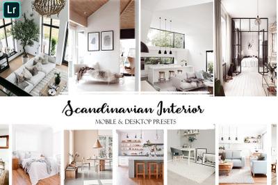Scandinavian Interior Lightroom Presets | Mobile & Desktop Presets