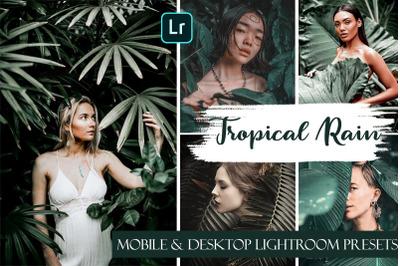 Tropical Rain Ligthroom Mobile & Desktop Presets