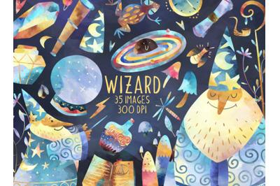 Watercolor Wizard Set