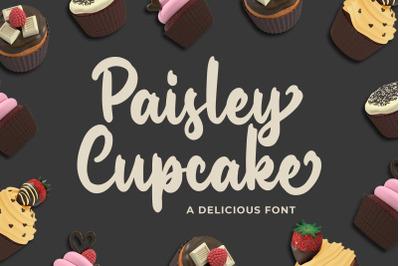 Paisley Cupkace a Delicious Font