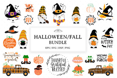 Halloween Fall SVG Bundle