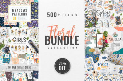 Abstract Floral Bundle