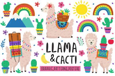Llama & Cacti collection