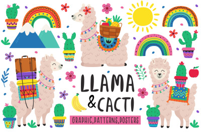 Llama & Cacti collection