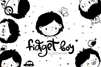Fidget boy's