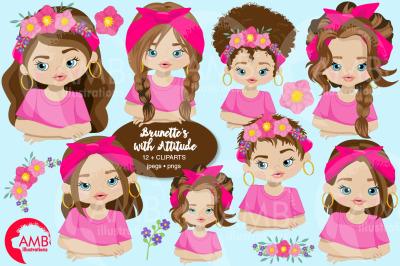 Attitude Girls 2 Clipart AMB-2786