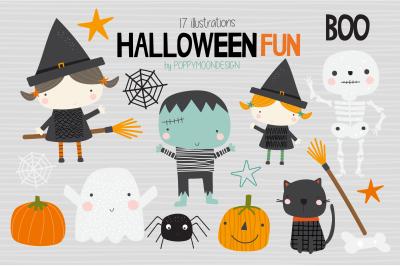 Halloween fun clipart