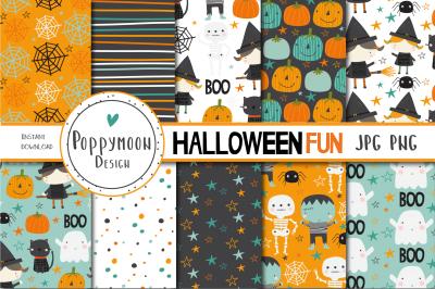 halloween fun paper set